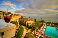 Left from the balcony with a Mojito :: Montage Resort in Laguna Beach CA