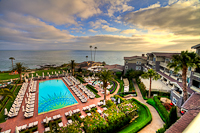 Right from the balcony :: Montage Resort in Laguna Beach CA