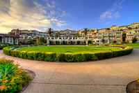 From the walkway along the ocean :: Montage Resort in Laguna Beach CA