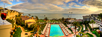 Panoramic view from the Balcony :: Montage Resort in Laguna Beach CA